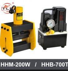 HHM-200W/HHB-700T/TLP 유압절곡기 펌프세트