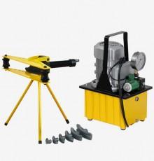 HHW-2F+HHB630E / TLP 유압파이프밴딩기 펌프세트
